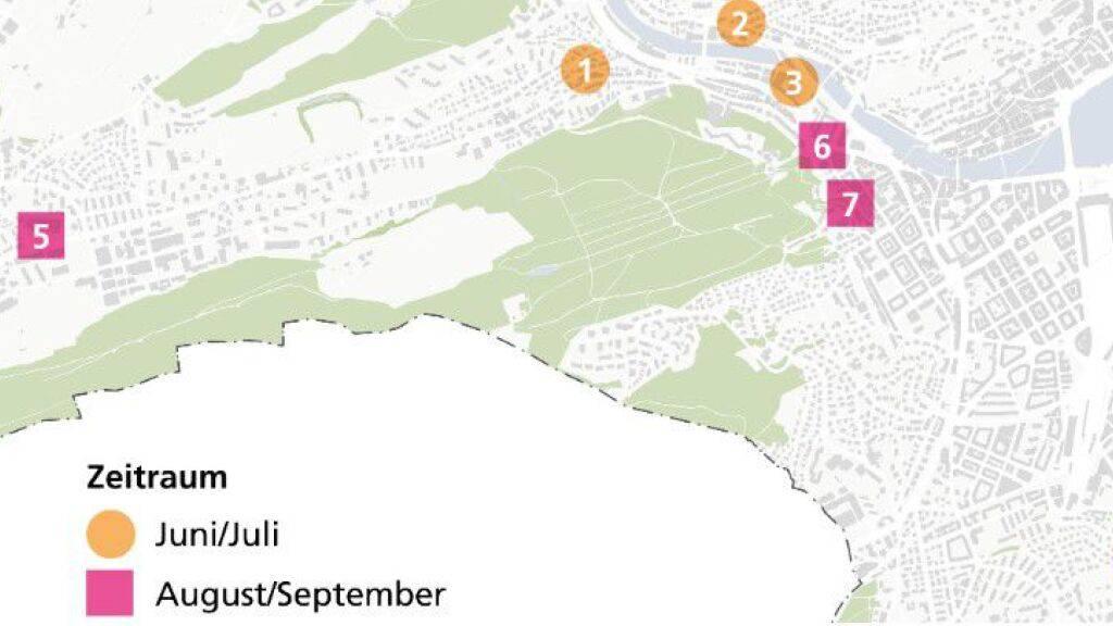 Stadt Luzern genehmigt acht Pop-up-Parks und eine Strassensperrung