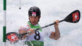Mit Mike Kurt beendet das Aushängeschild der Schweizer Kanuten seine Karriere.