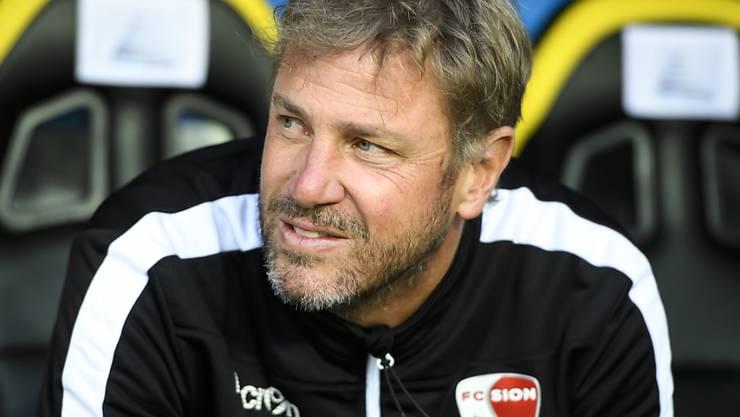 Sion-Trainer Stéphane Henchoz hofft im Rhone-Derby mal wieder auf drei Punkte