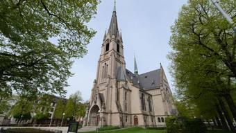 Die Matthäuskirche in Basel.