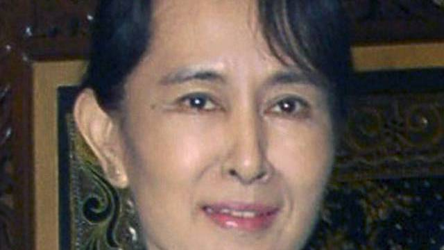 Oppositionsführerin Aung Suu Kyi (Archiv)