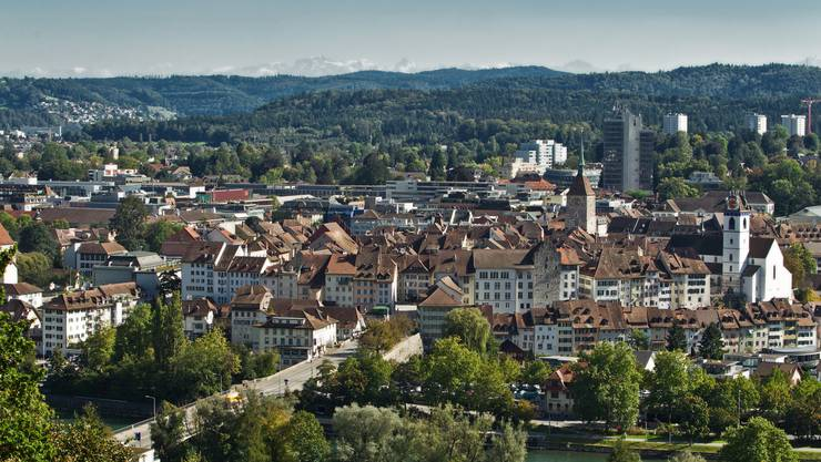 Auch ausserhalb des mittelalterlichen Stadtkerns könnte Aarau dicht werden.