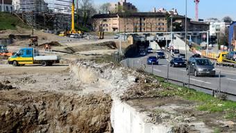 In sieben Jahren soll hier ein Park entstehen.
