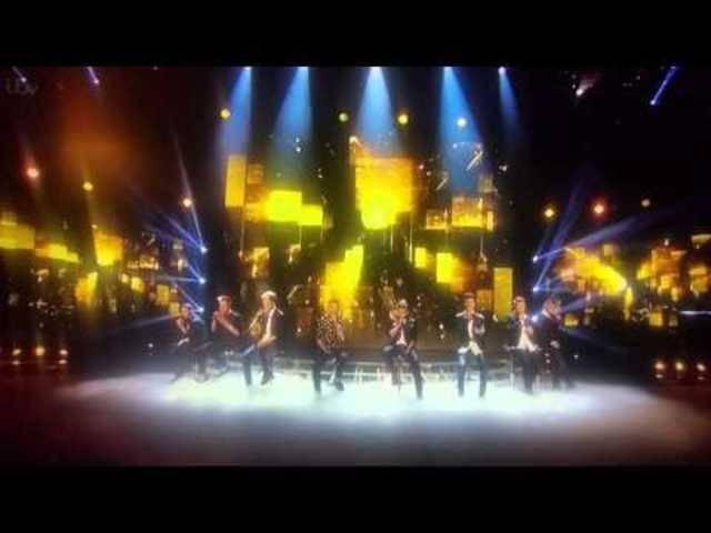Lee Nelsons Auftritt bei X Factor