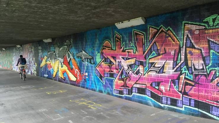 Als «Tag» versteht man im Graffiti-Jargon das Signaturkürzel eines Graffiti-Künstlers. Bestimmte Gangs gebrauchen «Tags» jedoch auch zur Markierung ihres Territoriums.  (Symbolbild)