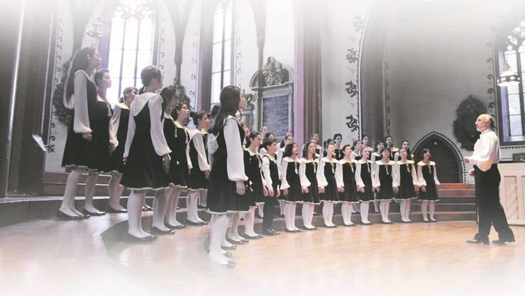 Die «Little Singers of Armenia» 2014.