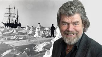 Die «Endurance» war im Packeis gefangen. Die Männer drifteten auf einer Eisscholle, ehe sie gerettet wurden. Reinhold Messer hat das Eisdrama in ein Buch verpackt.