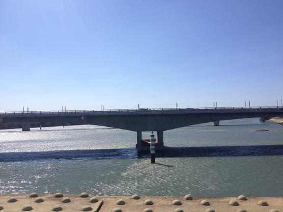 Impression von der 5. Etappe: Hier die berühmte Brücke von Avignon.
