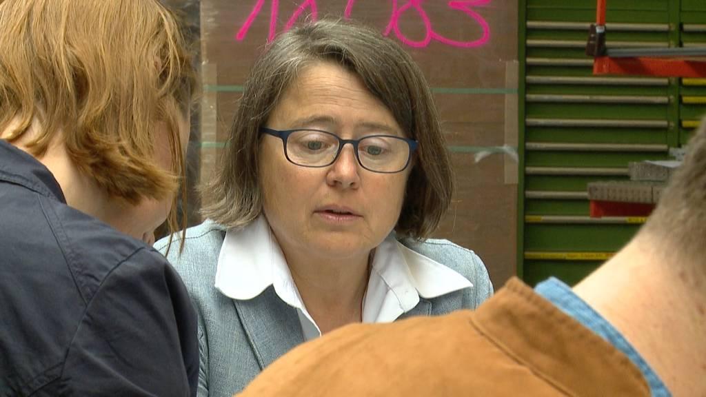 Annetta Steiner eröffnet offiziell ihren Wahlkampf
