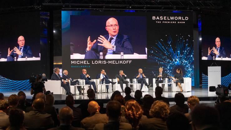 Die Baselworld gibt es nicht mehr, Managing Director Michel Loris-Melikoff arbeitet zurzeit an neuen Konzepten für eine Uhren- und Schmuckmesse.