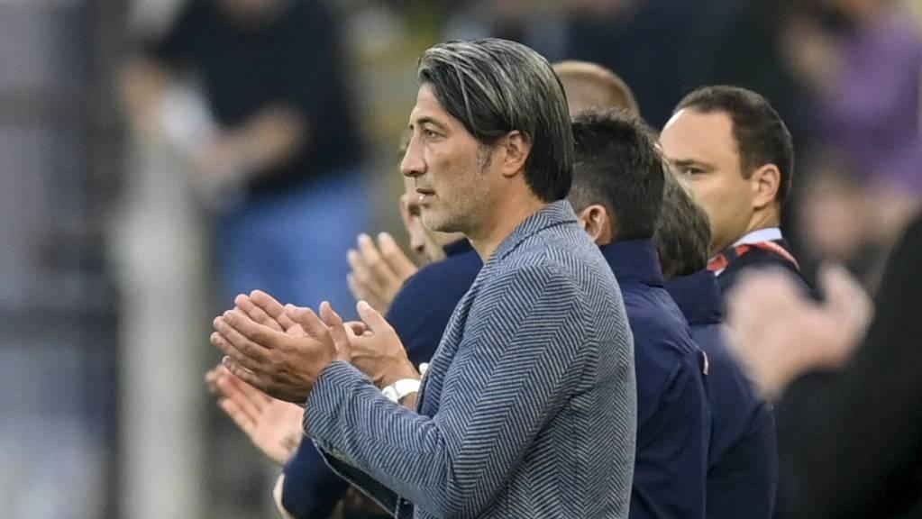 Trotz Nullnummer gegen Nordirland gab es für die Schweizer von Coach Murat Yakin auch ein wenig Applaus.