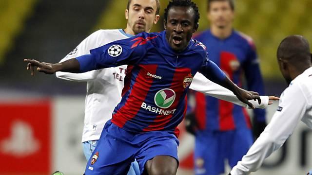 Seydou Doumbia erzielte zwei Treffer für Moskau