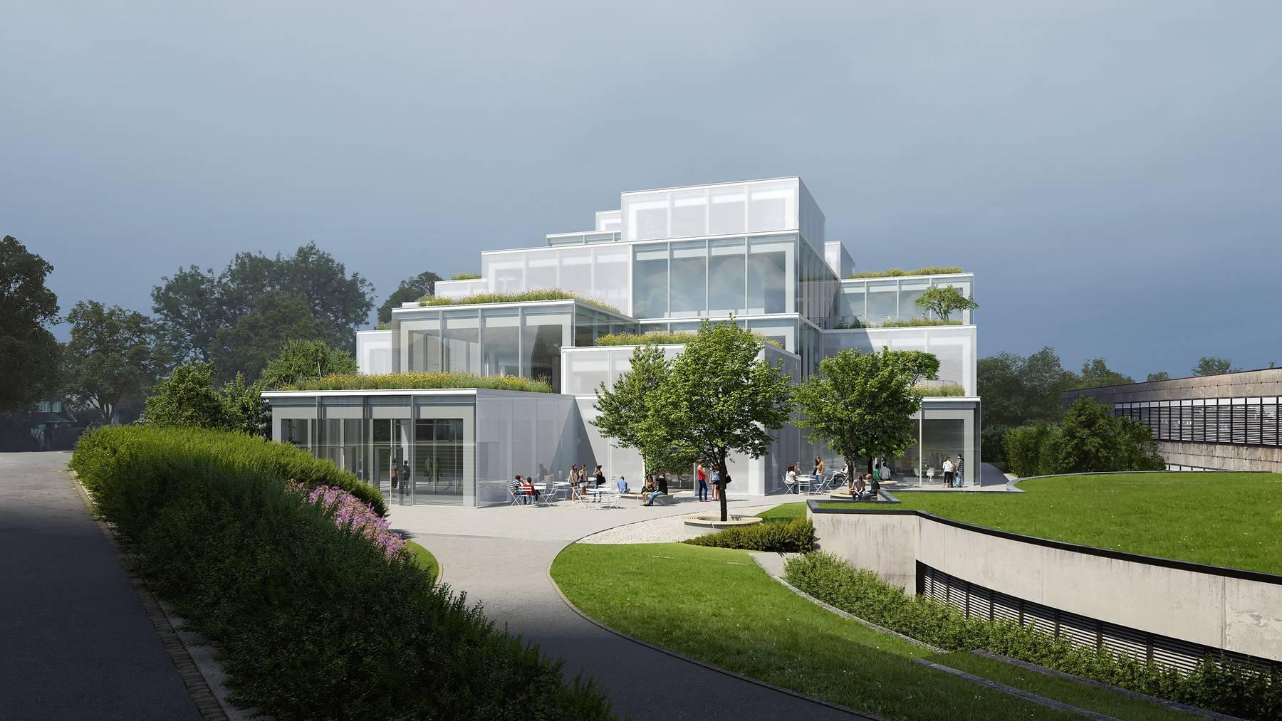 So soll das «HSG Learning Center» aussehen. (Visualisierung)