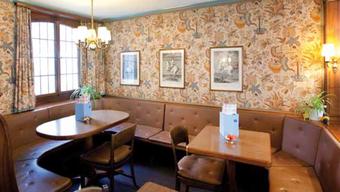 Die Confiserie Tea Room Brändli in Aarau.