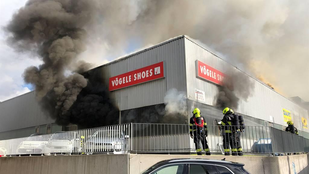 Grossbrand in Chur: 3000 Tiere können gerettet werden