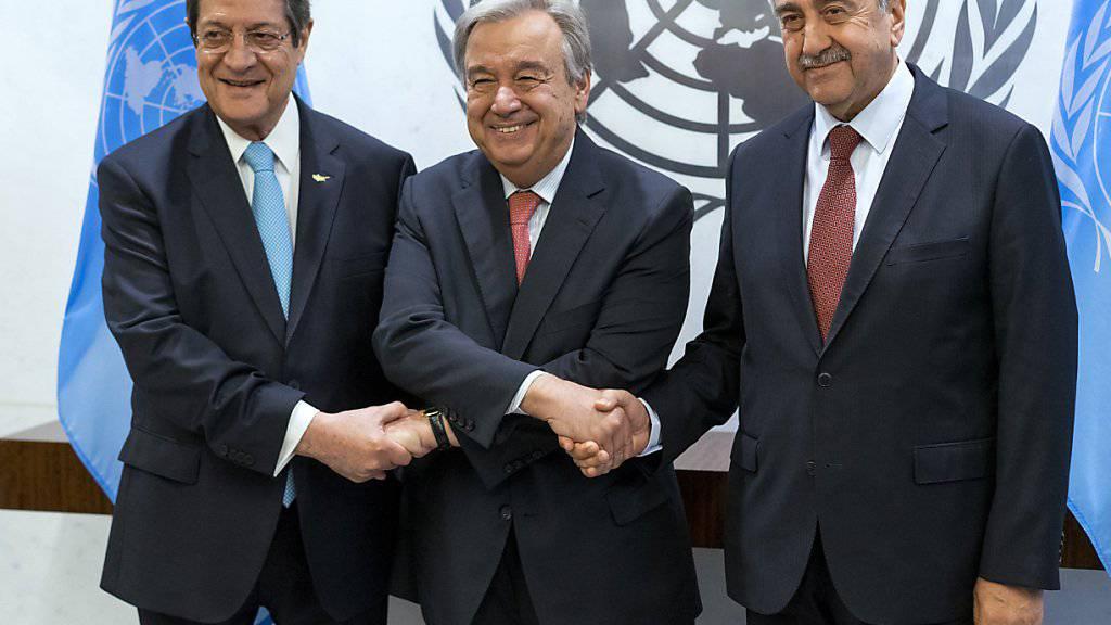 Zypern-Gespräche werden fortgesetzt