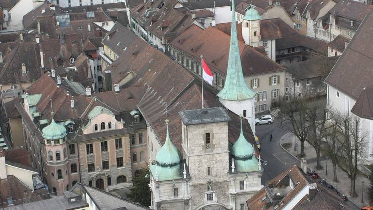 Rathaus Solothurn: Etliche Chefbeamte haben private Nebenjobs.