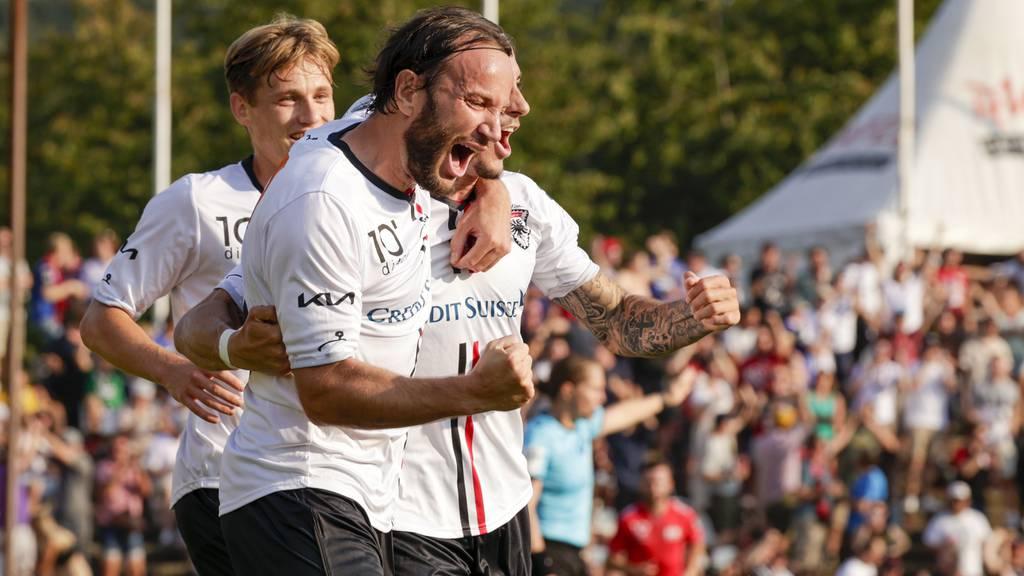 FC Aarau schickt Lausanne-Ouchy mit 5:2 nach Hause