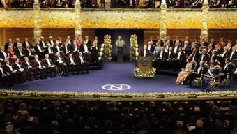 Die Nobel-Stiftung kürzt die Preisgelder wegen der Wirtschaftskrise (Archiv)