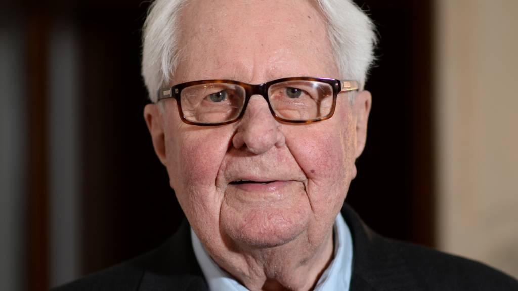 Der ehemalige SPD-Chef Hans-Jochen Vogel ist tot