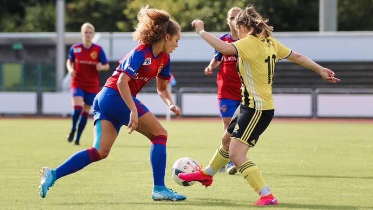Bei ihrem ersten Einsatz für den FCB (einem Testspiel gegen Basel OB) schoss Pilgrim bereits zwei Tore.