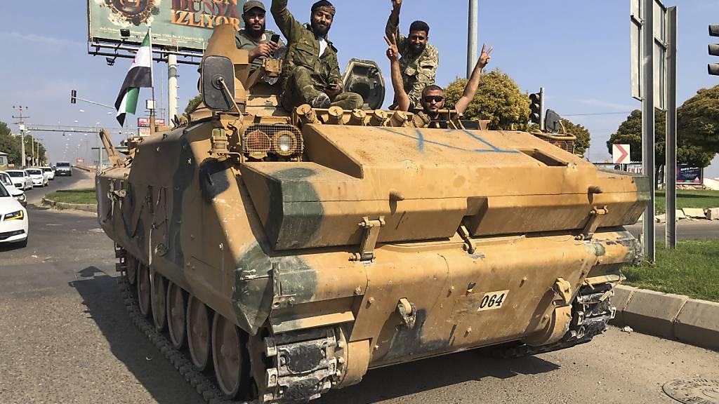 Nato bildet Krisenstab zu türkischer Offensive in Syrien