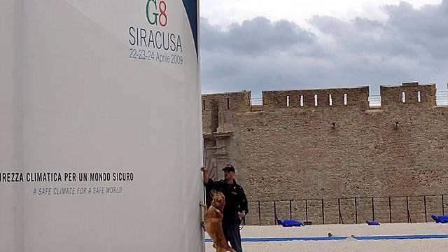 G8-Umweltminister verhandeln in Syrakus