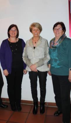 Evelyne Schneider, Marianne Bitterli, Therese Leimgruber