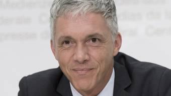 Bundesanwalt Michael Lauber bei der Ndrangheta-Medienkonferenz