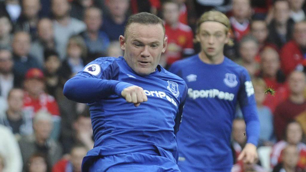 Wayne Rooney darf zwei Jahre lang nicht mehr selbst Auto fahren
