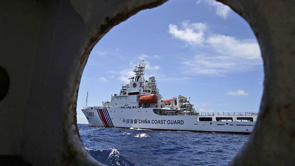Die USA wirken laut anonymen Regierungsquellen darauf hin, dass sich die Situation im Südchinesischen Meer nach dem Schiedsgerichtsurteil gegen China beruhigen. (Archivbild)