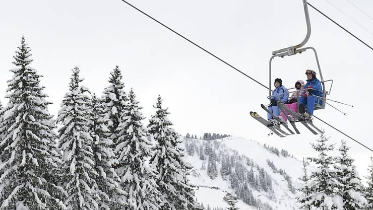 Nach vier schwierigen Wintern geht es mit dem Walliser Skigebiet Télémorgins-Champoussin wieder aufwärts. (Archivbild)