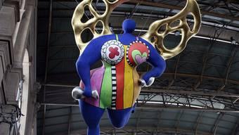 die bekannte Nana von Niki de Saint Phalle in Zürich (Archiv)