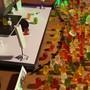 Genial: Zu Gast auf dem Festivalgelände sind rund 300 Gummibärchen.