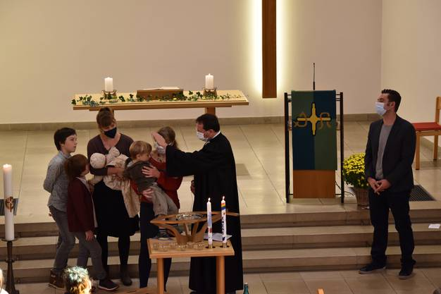 Taufe von Eneas Speiser