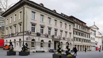 Das Ex-Naturmuseum-Gebäude steht derzeit frei und soll gemäss Stadtrat im Baurecht abgegeben oder verkauft werden. Bild: bko/Archiv