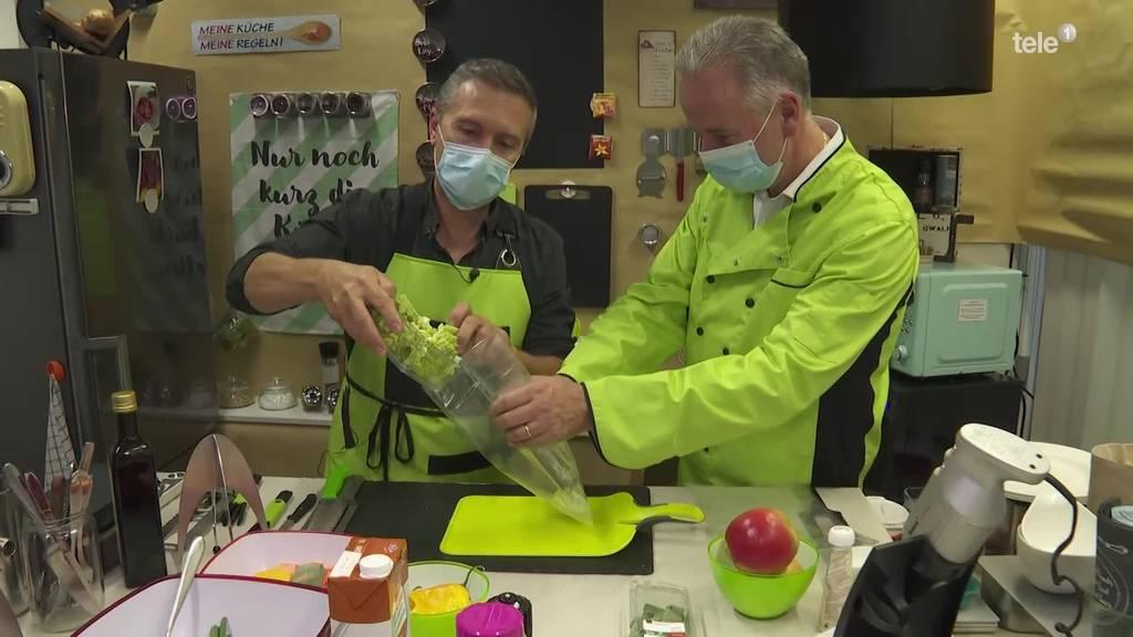 Luzerner Köche mit Dampf-Kochbeutel auf Investorenjagd