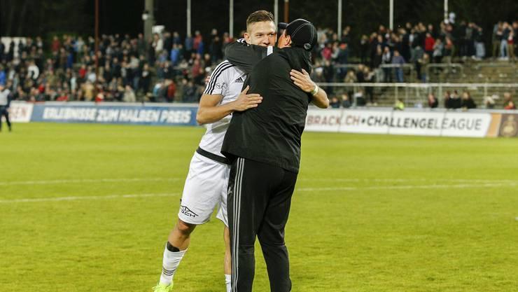Das Spiel gegen Wil war Francesco Gabrieles letztes Heimspiel im Dienste des FC Wohlen.