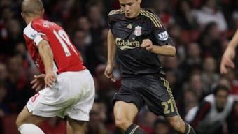 Philipp Degens dritter Einsatz für Liverpool war nicht von Erfolg gekrönt