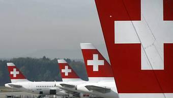 Dritter Swiss-Airbus bleibt am Boden