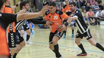 Luka Maros steht mit den Kadetten im Cupfinal (Archivbild)