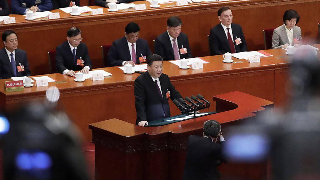 Xi warnt vor Spaltung der eigenen Nation