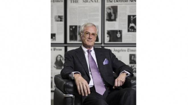 «Nicht sichergestellt»: Michael Ringier über den Journalismus. Foto: Keystone/Christian Beutler