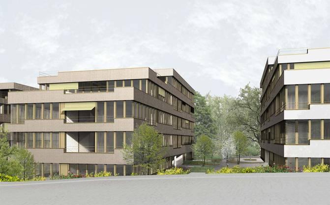 8 Eine Wohnüberbauung ersetzt die Büropavillons an der Römerstrasse