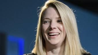 Yahoo-CEO Marissa Meyer, hier am WEF in Davos, ist zufrieden mit den Umsatzzahlen