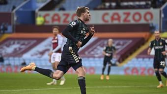 Patrick Bamford schiesst mit Aufsteiger Leed United das zuvor ungeschlagene Aston Villa ab