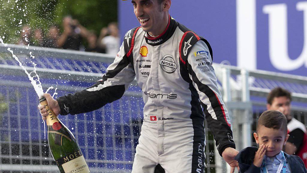 Erster Formel-E-Sieg von Buemi seit über zwei Jahren