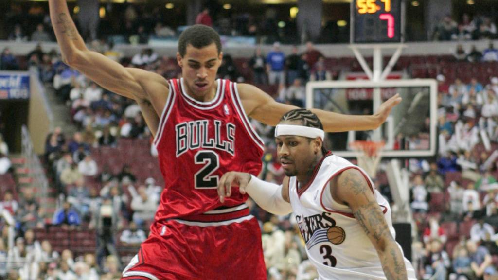 Thabo Sefolosha wird im NBA-Draft 2006 ein «Bulle»