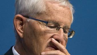"UBS-Verwaltungsratspräsident Kaspar Villiger ist ""enttäuscht"" vom Betrugsfalll (Archiv)"