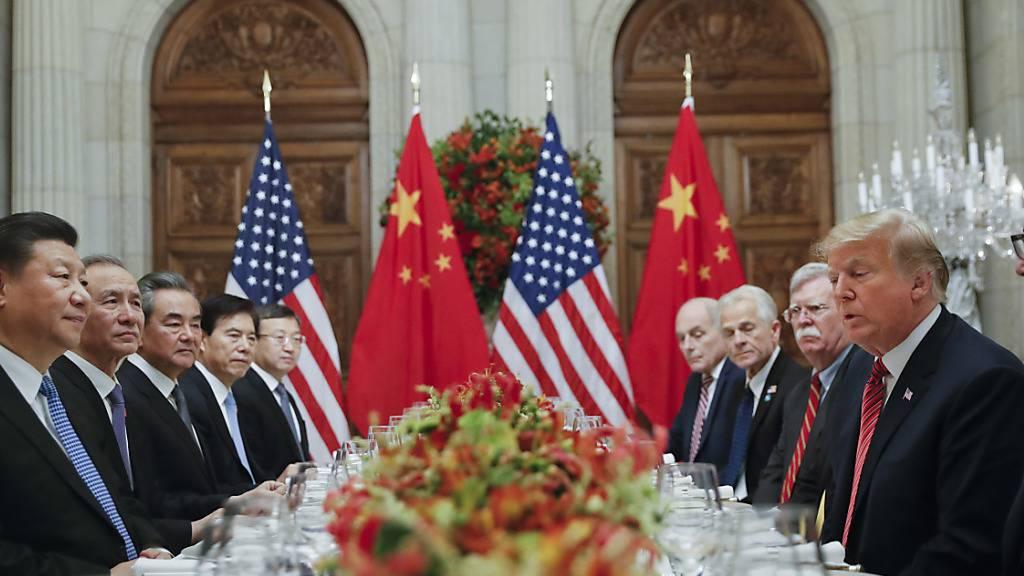 USA wollen rasche Ergebnisse in Handelsgesprächen mit China